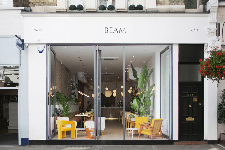 Beam Café / Ola Jachymiak Studio, © Simon Carruthers