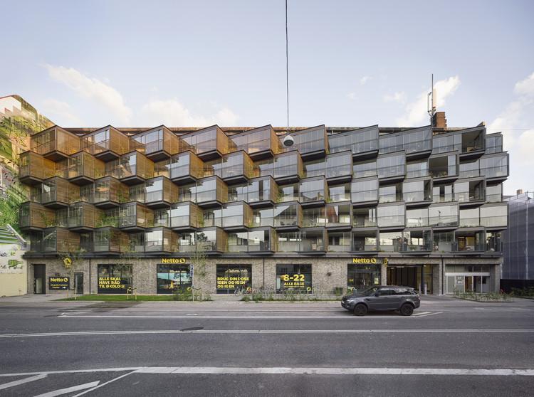 Edifício de Apartamentos Ørsted Gardens / Tegnestuen LOKAL, © Hampus Berndtson