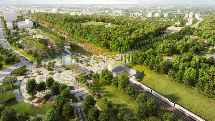 Chapman Taylor Designs Masterplan for the World Horticultural Expo in Poland's Third-Largest City, Courtesy of Chapman Taylor