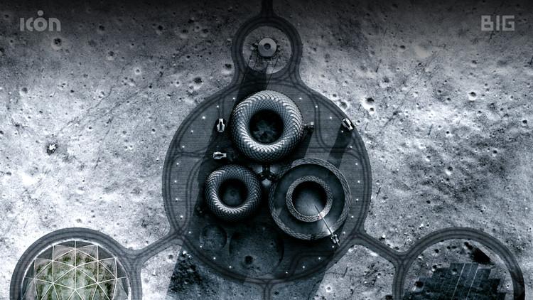 BIG, ICON y SEArch+ diseñan sistema de construcción para el espacio junto a NASA, © BIG-Bjarke Ingels Group