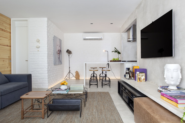 Apartamento RF House / Studio RO+CA, © Denilson Machado – MCA Estúdio