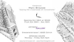 """Gazing the Crossraods of Civilizations"" by Marc Brousse at ArtboxGallery"