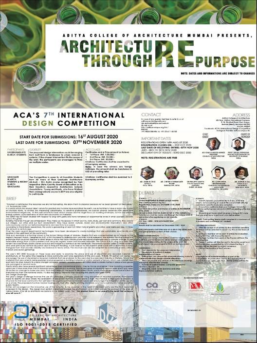 Open Call: Architecture Through Re-purpose, Architecture through Re-purpose
