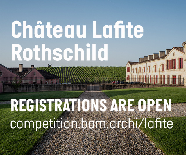 Architecture Competition: Château Lafite Rothschild, @because_architecture_matters