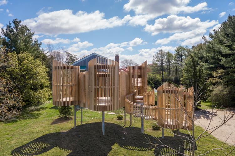 Pabellón outside-in / Valerie Schweitzer Architects, © Josh Goetz
