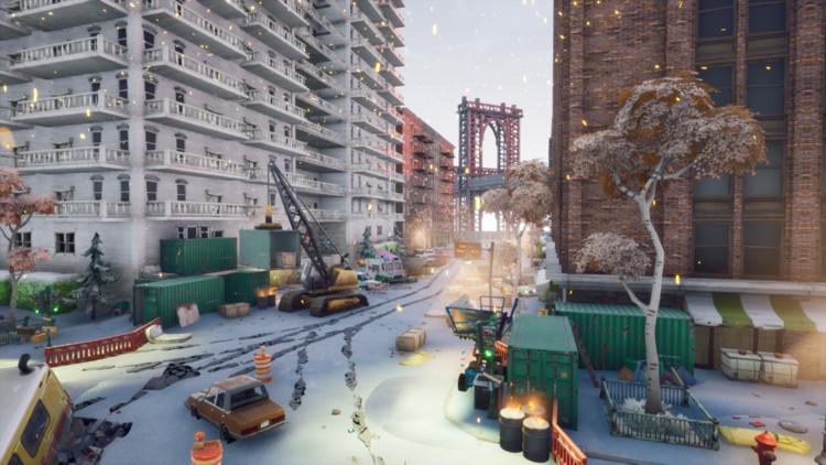 Tecnologia e imaginação na arquitetura dos videogames, Fortnite. Imagem via Epicgames