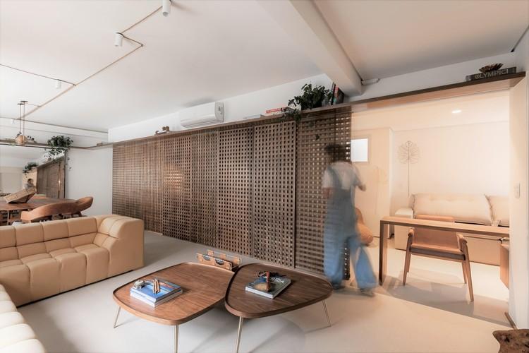 Apartamento ML / arquitetura flipê - © Rodrigo Xavier