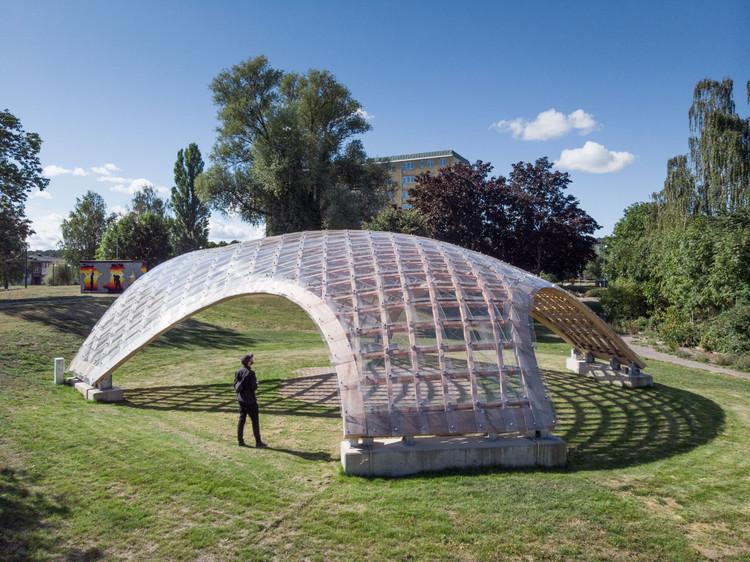 Portalen Pavilion / Map13 Barcelona + Summum Engineering + Edyta Augustynowicz, © Ricard Estay