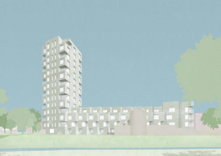 David Chipperfield recebe autorização para seguir com projeto residencial na Bélgica, Courtesy of David Chipperfield Architects