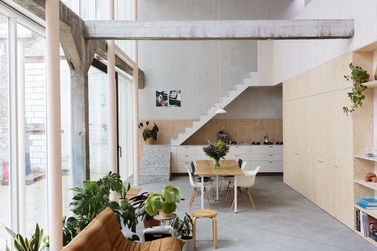 ShedBOX House / Atelier Janda Vanderghote, © Alexander Meeus