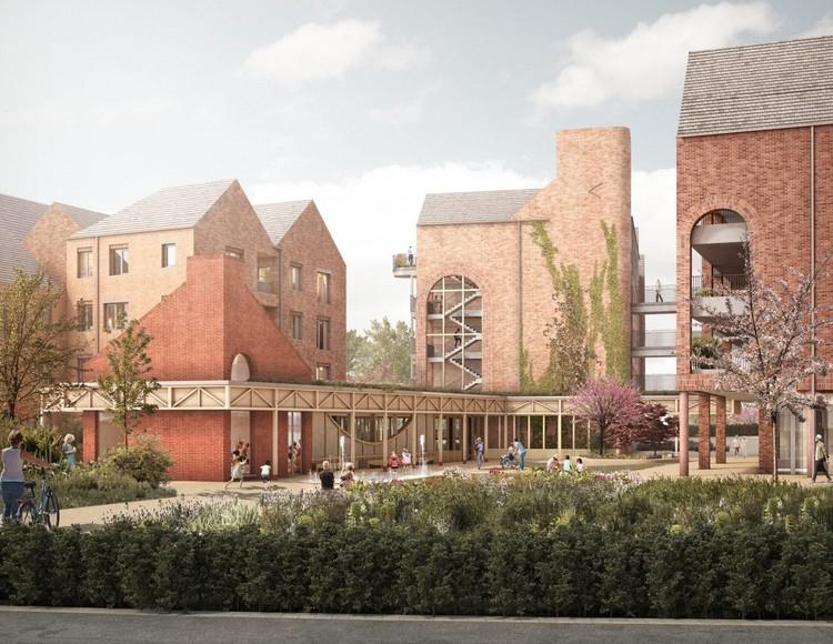 RCKa Designs Net-Zero Carbon Village in the U.K., Courtesy of Blackpoint