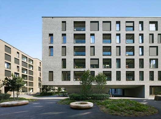 Weltpostpark Housing / SSA Architekten