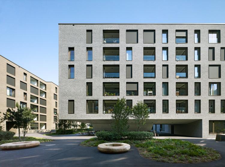 Weltpostpark Housing / SSA Architekten, © Ruedi Walti