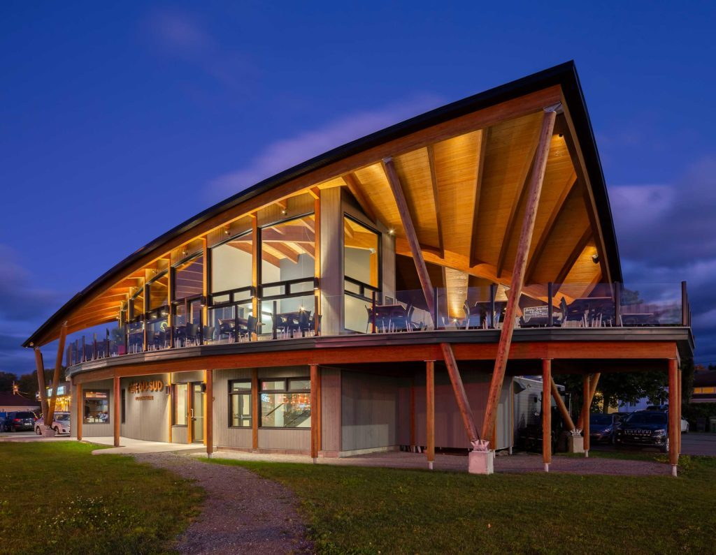 Quebec, Canada: the Heart of Mass Timber Construction