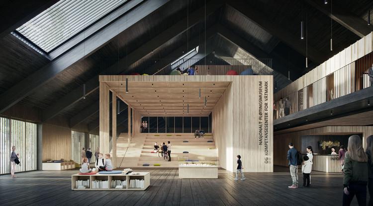 Karres en Brands to Design Norway's National Logging Museum, Courtesy of VividVision