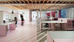 Oficina de Aprendizagem de Moda Zadkine / Krill-Office for Resilient Cities and Architecture
