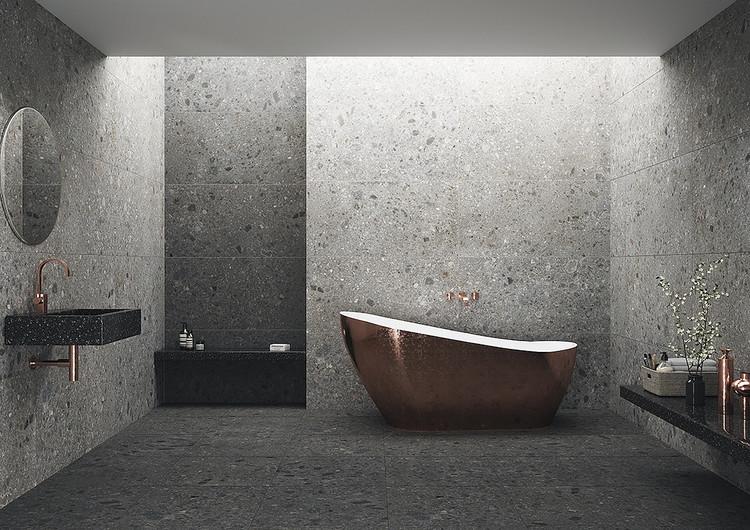 Revestimientos de gran formato: Espacios continuos, limpios y minimalistas , Cortesía de Daltile