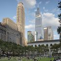 View from Bryant Park. Opening, September 2020. Image © Raimund Koch