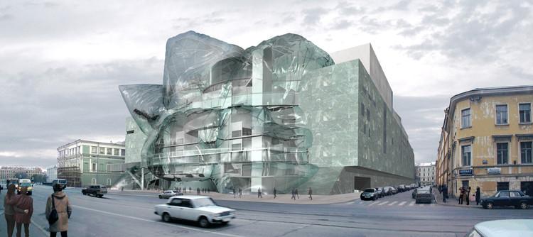 Mariinsky Theater II / Eric Owen Moss Architects. Image © EOMA