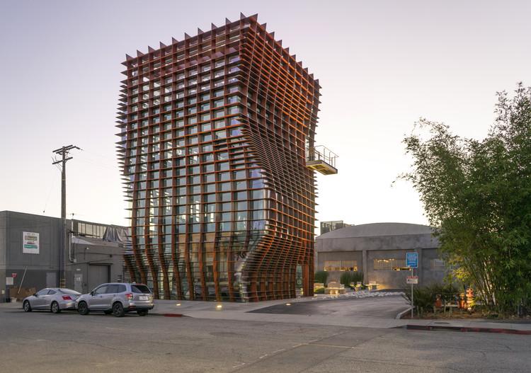 Waffle / Eric Owen Moss Architects. Image © EOMA