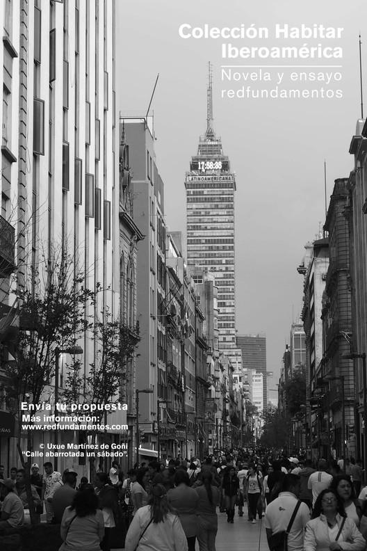 "Colección de novela y ensayo Habitar Iberoamérica, ""Calle abarrotada un sábado"" de Uxue Martínez de Goñi"