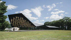 Pavilhão de Snowpeak Landstation Hakuba / Kengo Kuma & Associates