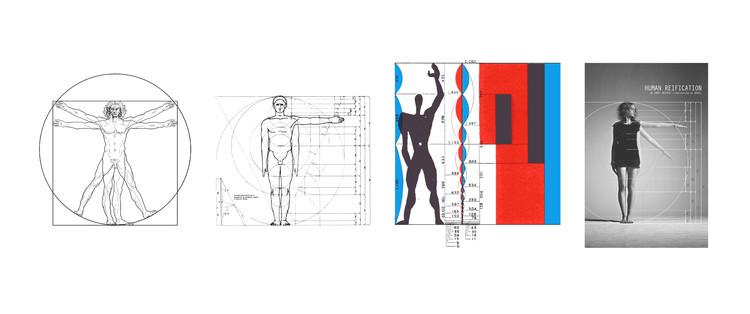 A evolução no entendimento das escalas humanas na arquitetura