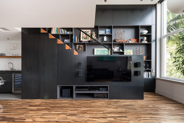 Apartamento Conte / Núcleo de Arquitetura Experimental , © Marcelo Donadussi