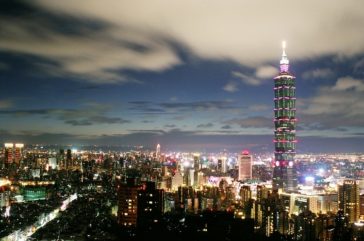 Taipei 101 Tower in Taipei. Image © Flickr User Chris Licensed Under CC BY 2.0