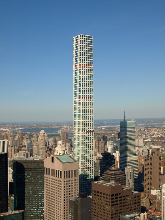 432 Park Avenue located in New York City- the tallest condominium tower in the United States . Image © Marshall Gerometta - CTBUH