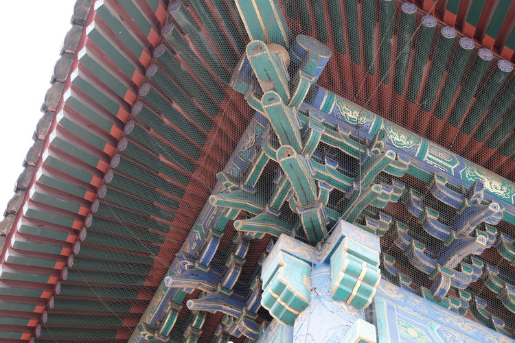 The Forbidden City roof detail. Image © Han Shuang