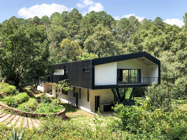 Ocoxal House /  A-001 Taller de Arquitectura, Cortesía de A-001 Taller de arquitectura