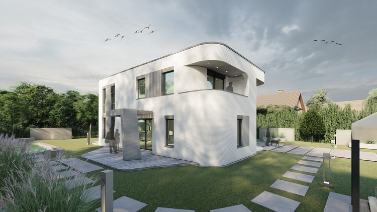 3D Printing for Residential is Market-Ready: Germany's First Building is Under Construction, Courtesy of MENSE-KORTE, ingenieure+architekten