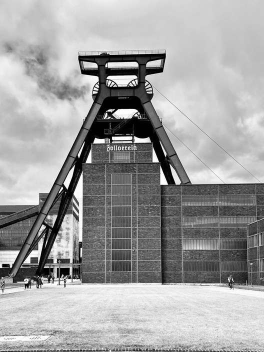 Zollverein Coal Mine Industrial Complex in Essen.  Photography & Concepts © Erieta Attali
