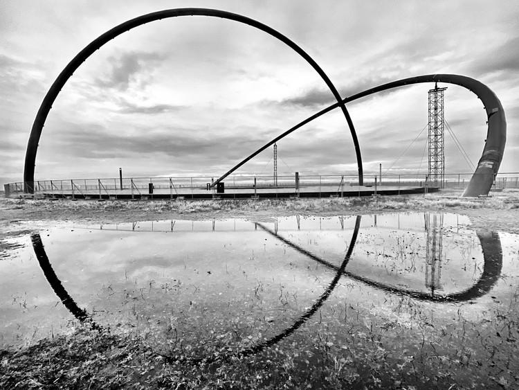 "Erieta Attali and Philipp Valente Explore the Shadows of Germany's Industrial Past, ""Horizontobservatorium"" at Halde Hoheward, Herten. Photography & Concept © Erieta Attali"