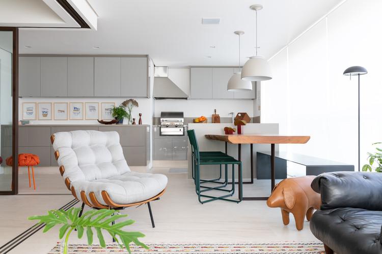 Apartamento LM / Renata Gaia Arquitetura, © Lufe Gomes