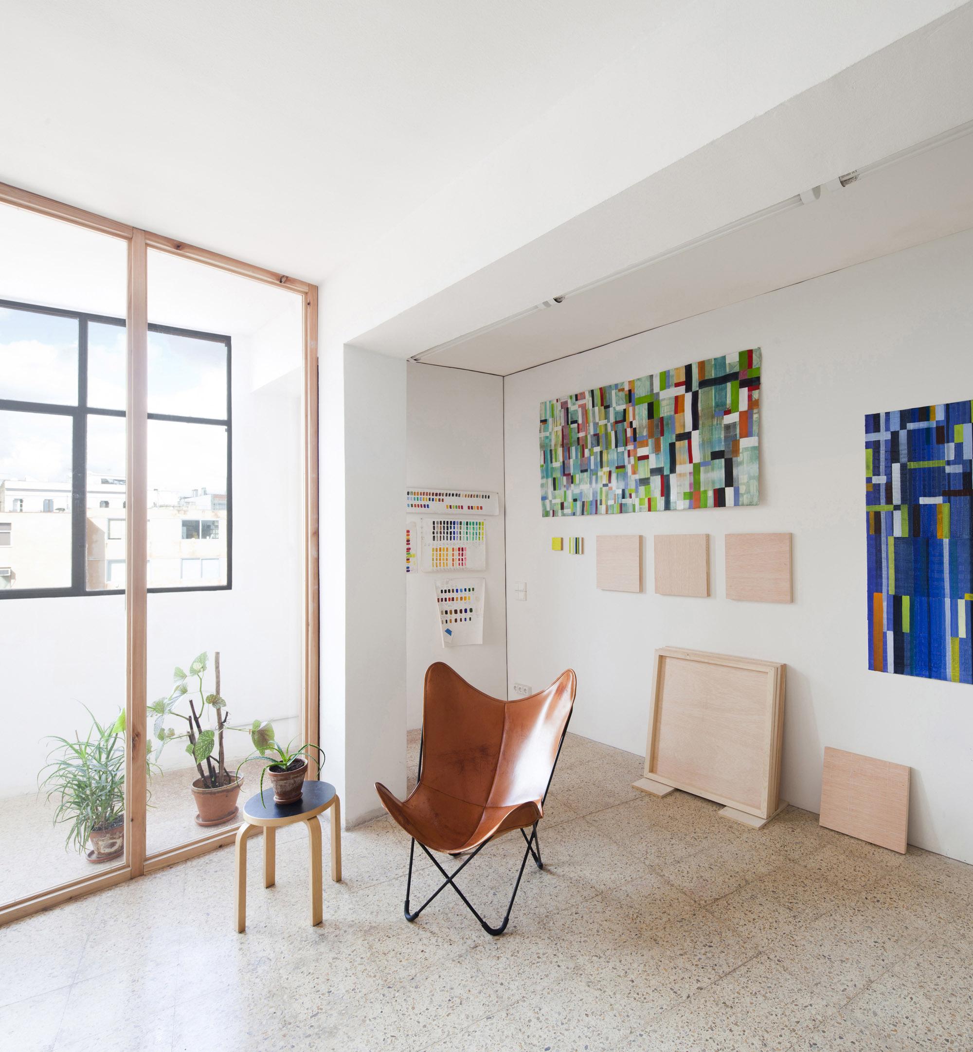 Studio for Artist Victor Pérez-Porro / Anna & Eugeni Bach