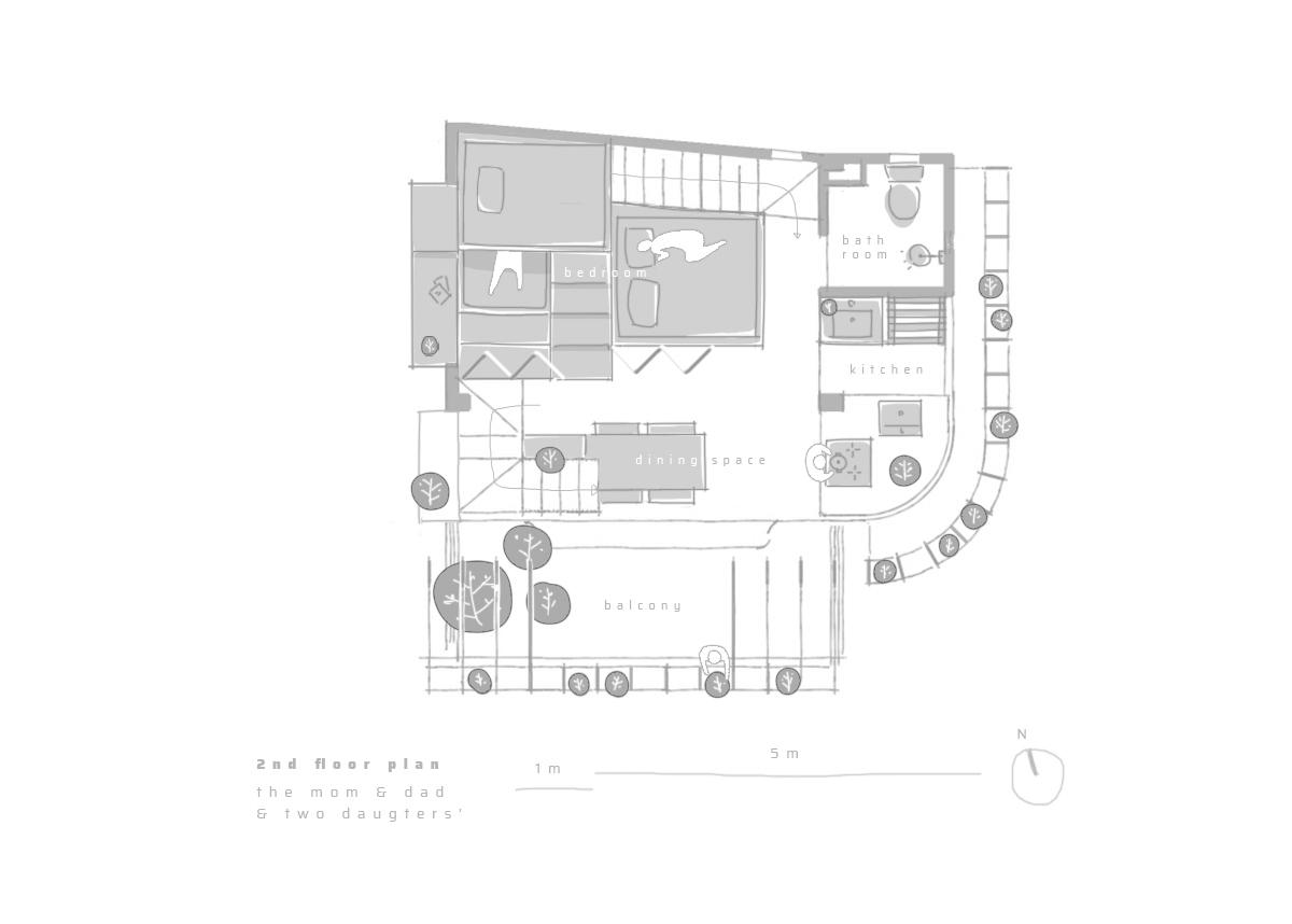 Gallery Of Tiam Coffee Shop Home Nguyen Khai Architects Associates 38