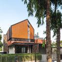 Well of Light 5 - Well of Light House: Ngôi nhà được làm mát bằng cách tối ưu ánh sáng không khí qua khối xây dựng, mặt tiền, vật liệu