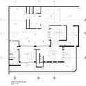 AR 01 FIRST FLOOR PLAN - Well of Light House: Ngôi nhà được làm mát bằng cách tối ưu ánh sáng không khí qua khối xây dựng, mặt tiền, vật liệu