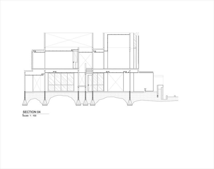 AR 09 SECTION 04 - Well of Light House: Ngôi nhà được làm mát bằng cách tối ưu ánh sáng không khí qua khối xây dựng, mặt tiền, vật liệu