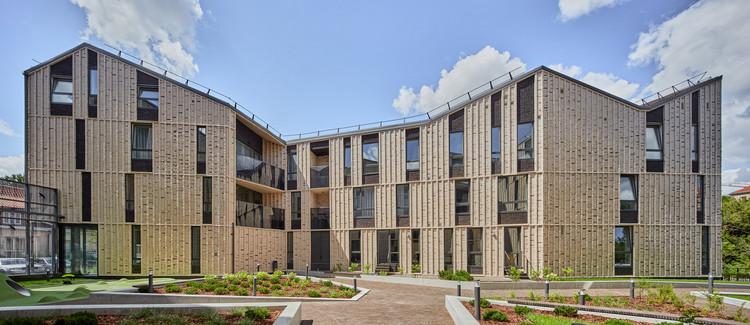 Paupys Yards Housing Complex / arches, © Norbert Tukaj