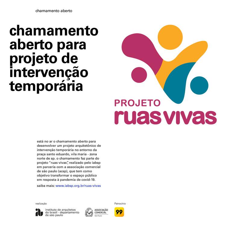 """Projeto """"Ruas Vivas"""": chamada para intervenção temporária na Zona Norte de São Paulo, ruas_vivas"""