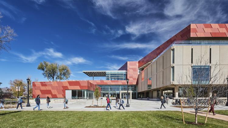 Colorado College Tutt Library Expansion & Transformation / Pfeiffer, © Steve Lerum