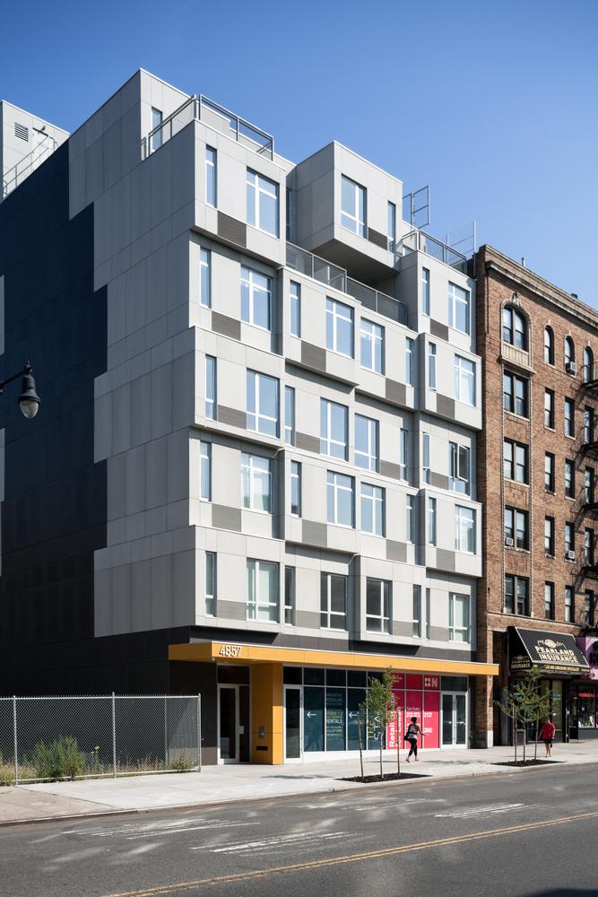 ¿Por qué elegir la construcción modular?,© Amy Barkow