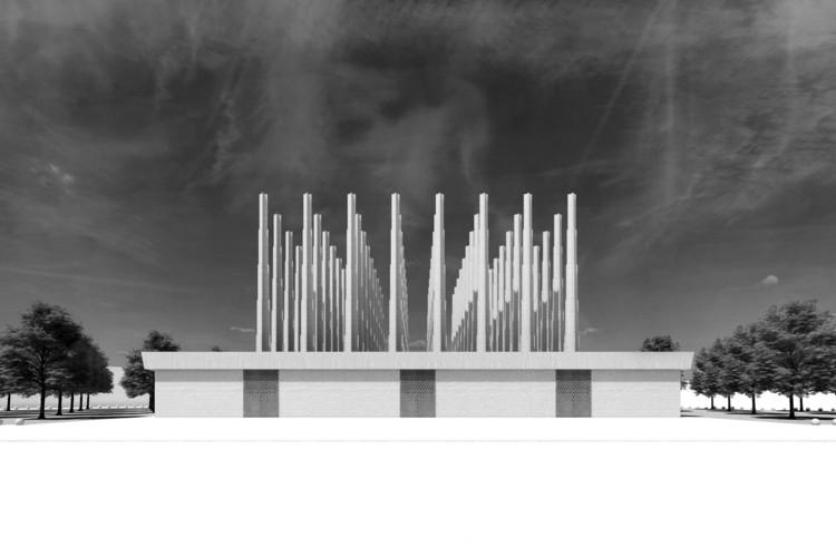 Adjaye Associates divulga projeto conceitual para Memorial dos Mártires no Níger, Cortesia de Adjaye Associates
