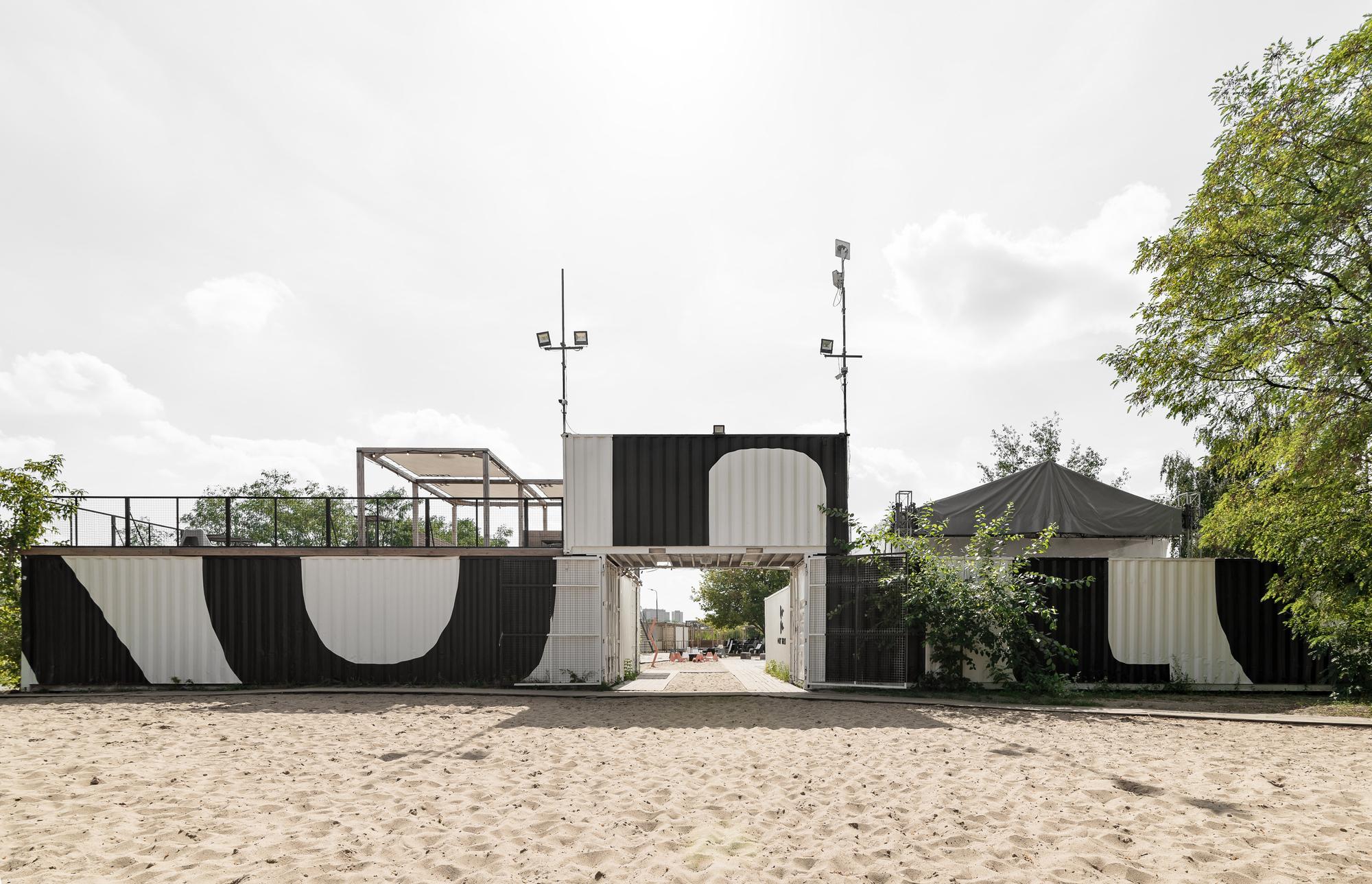 Kontenerart 19 Cultural & Recreational Space / wiercinski-studio