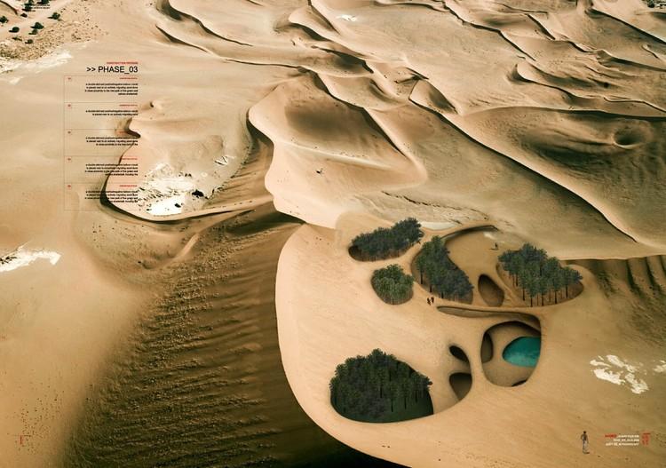 Turning Dunes into Architecture. Image Courtesy of Magnus Larsson