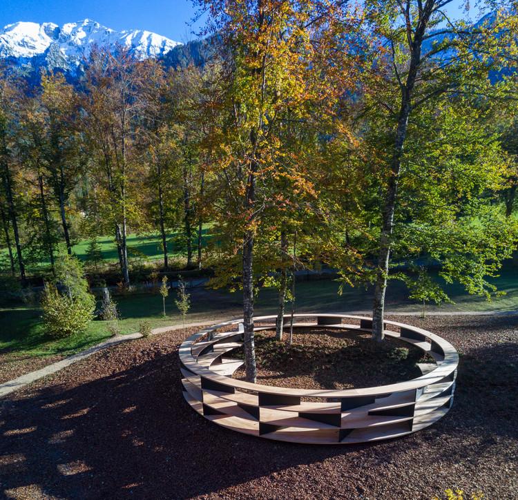 Stefano Boeri projeta de instalação de madeira para o Val di Sella, no norte da Itália, © Giacomo Bianchi