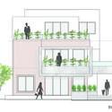 ELEVATION - The Box House: Ngôi nhà với những mảng xanh đồng bộ với thiên nhiên